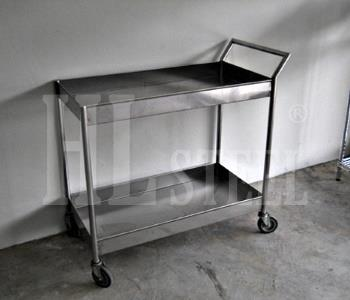 2 Tier Cutlery Trolley
